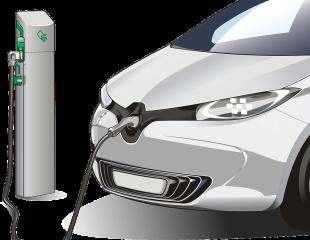 voiture électrique borne de recharge électrique IRVE